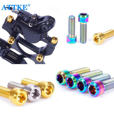 MTB Cycling Fixed Bolt Bicycle Stems Screws Bike Parts Stem Fixing Bolts UK • 4.02£