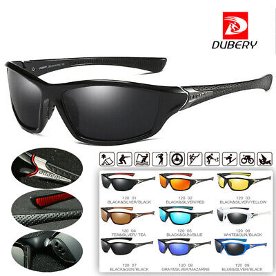 DUBERY Sport Polarized Sunglasses Outdoor Driving Fishing Glasses Spectacles • 4.99£