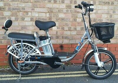 Electric Bike - With Pedal Assist - 2 Seater, Throttle And Strong Wheels • 929£