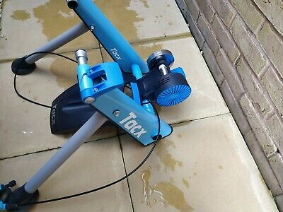 Tacx T2650  Magnetic Turbo Trainer - Blue Matic Great Condition + Wheel Riser • 70£