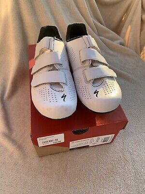 Specialized Torch 1.0 Road Shoes White - Uk 10.5 Eu45 • 23.80£