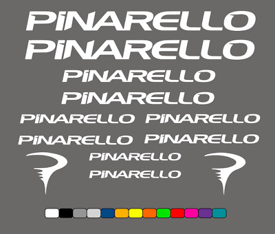 PINARELLO - Road Bike Frame Stickers - Vinyl Decals • 9.99£