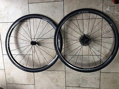 Shimano RS Wheelset - Complete With Cassette, Tyres And Tubes- Road Bike • 50£