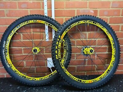 Mavic Deemax Ultimate 26  Wheels With Tyres And Cassette  • 100£
