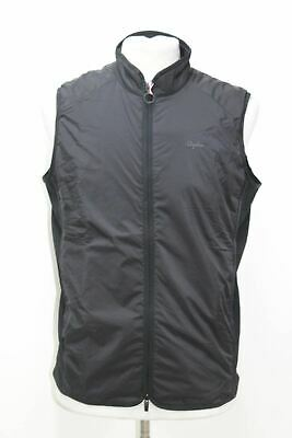 RAPHA Transfer Insulated Gilet Black Windproof Men's Cycling Vest Large BNWT • 100.25£