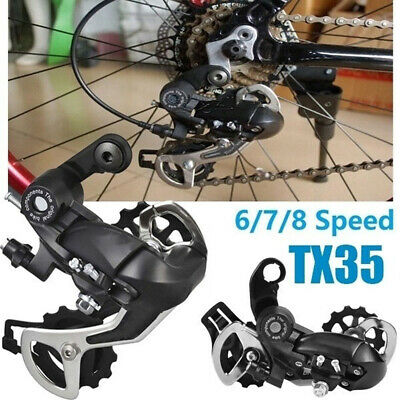 -1Pc Tourney RD TX35 5/6 /7/8Speed Direct Mount MTB Rear Mech Derailleur- • 7.49£