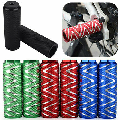 2Pcs/Kit MTB BMX Mountain Bike Bicycle Axle Pedal Alloy Foot Stunt Pegs Cylinder • 7.75£