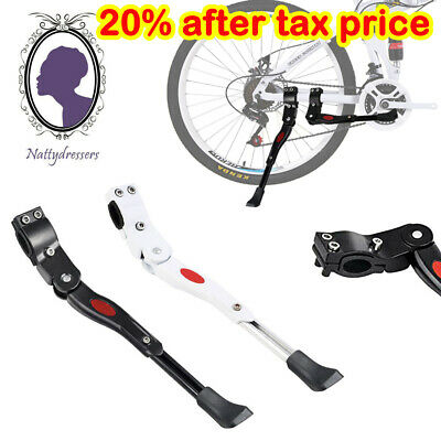 Heavy Duty Adjustable Mountain Bike Bicycle Cycle Prop Side Rear Kick Stand UK • 5.39£