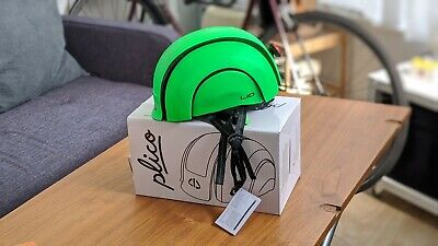 Foldable Cycle Helmet By LID - Folding, Rear Light And Self-adjusting • 5£