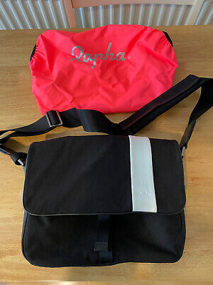 Rapha Cycling Messenger Bag Canvas/leather Excellent Condition • 20£