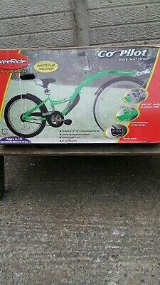 WeeRide Co-Pilot Tag-Along Bike Trailer In Green, Brand New - Never Used  • 90£