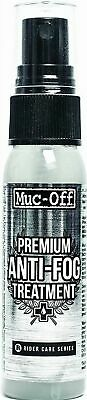 Muc Off Premium Anti-Fog Treatment, 30ml- Long-Lasting.   Visors, Glasses Etc. • 9.75£