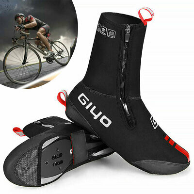Waterproof Cycling Shoe Covers Shoes Cover MTB Road Bike Overshoes Warm Thermal • 19.75£