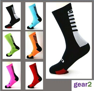 Cycling Socks Mens Womens Road Mountain Bike Size 5-11 Sport New From UK Stock • 4.89£