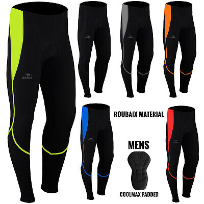 Mens Cycling Trousers Tights Thermal Padded Pants Cycle Long Legging NEW • 16.99£