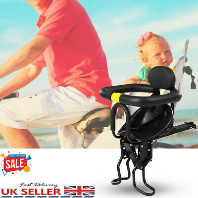 Child Bicycle Bike Front Seat Saddle Children Kid Baby Safety Carrier Chair New • 22.89£