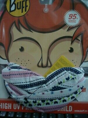 Childrens, Genuine Buff, Face Mask, Lily, High Uv • 8.99£