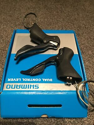 Shimano Tiagra 2 X 10 Speed STI 4700 Road Bike Shifters Brake  Levers Double • 45£