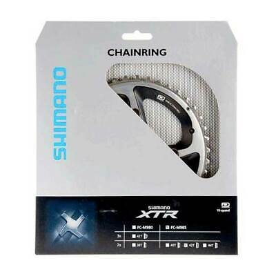 Shimano M985 Xtr Af Chainrings Bike Parts Silver • 94.99£