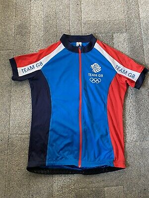 Womens Team GB Cycling Shorts And Jersey • 2.70£