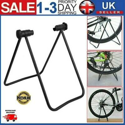 Folding Bicycle Stand Stationary Bike Floor Stand Exercise Training Mount Rack • 7.99£