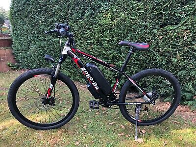 Electric Mountain Bike 48v/10ah(New, High Quality Carbon Steel Frame) • 695£