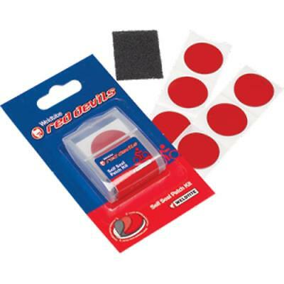 Red Devil Micro Glueless Self Seal Bike Tyre Repair Patches Inner Tube Patch Kit • 2.99£