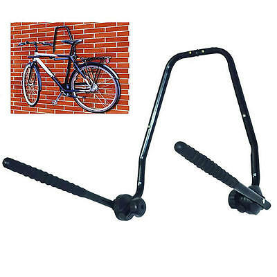 Wall Mounted 3 Bike Storage Rack Folding Steel Bicycle Rack Garage Surf Board • 13.99£