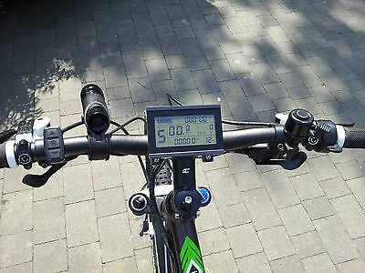 Electric Bike LCD Display KT-LCD3 - EBike, UK Stock - Sale - Free Fast Delivery • 44.99£