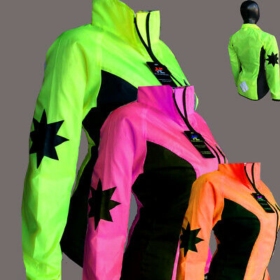 Cycling Jacket Highly Visible Hi Viz Waterproof For  Women Special Offer Hurry ! • 11.99£