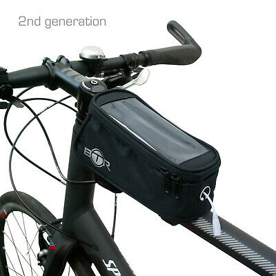 BTR Waterproof Bike Frame Bag Pannier Bicycle Mobile Phone Holder  • 5.99£