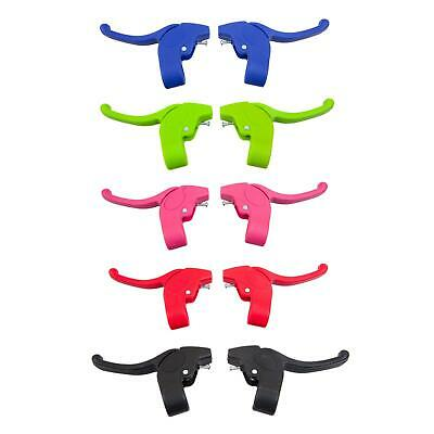 KIDS BIKE CALIPER BRAKE LEVERS - Childrens Bicycles In BLUE RED GREEN PINK BLACK • 6.99£