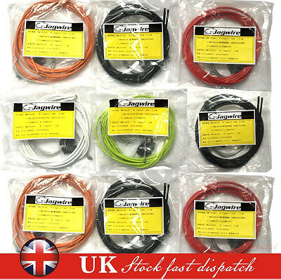 Bicycle Brake Cable Set Jagwire Front & Rear Inner Outer Wire Gear Mountain Bike • 6.25£