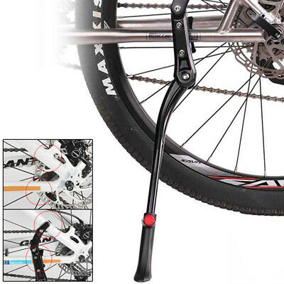 Heavy Duty Mountain Adjustable Bike Bicycle Cycle Prop Side Reak Kick Stand Kit • 5.63£