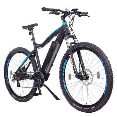 NCM Moscow 27,5  Electric Mountain Bike E-Bike 250W E-MTB 48V 13Ah 624Wh Black • 1,099£