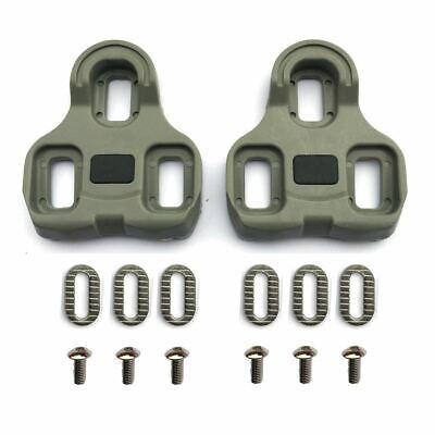 Look Keo Compatible Pedal Cleats Replacement Set - Grey 5° Float • 8.99£