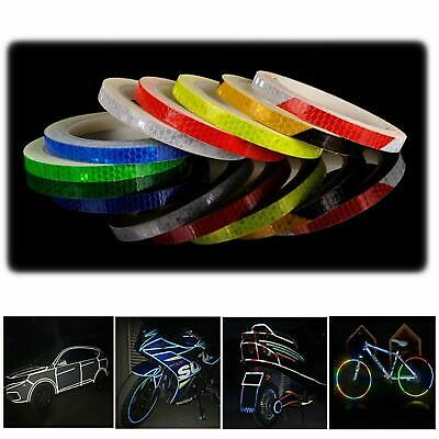 8M Reflective Stickers Hi Vis Viz Safety Car Motorcycle Bike DIY Reflector Tape • 2.29£