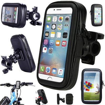 Waterproof Bike Bicycle Mount Holder Phone 360° Case Cover For All Phones • 10.99£