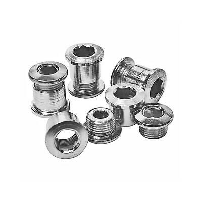 Stronglight 350050 Double Chain Ring Bolts X5 Bicycle Stainless Steel - Silver • 9.99£