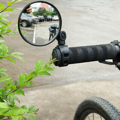 Universal 360° Rotate Bike Rear View Mirror Adjustable Flexible Safety Durable • 5.29£