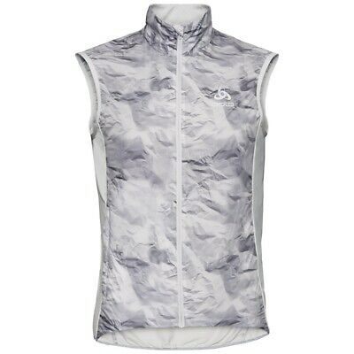 Odlo Men's Vest Cycling Windproof - Grey Size Xlarge Zeroweight  • 24£