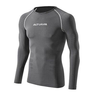 Altura Second Skin Long Sleeve Baselayer Size Small/Medium Black • 20£
