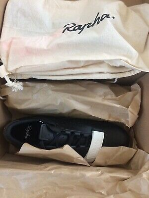 Rapha Classic Cycling Shoes Black Size 42 EU Brand New Boxed • 160£