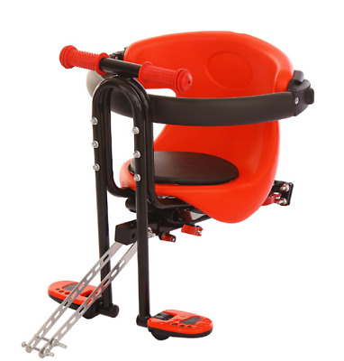 Bicycle Bike Child Seat Saddle Children Baby Safety Chair Carrier Front Portable • 36.99£