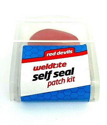 Bike Cycle-Bicycle Weldtite Red-Devil Self Seal Puncture Repair Patches Kit - • 2.75£