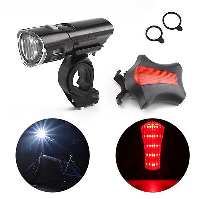 Waterproof Led Bike Bicycle Cycle Front And Rear Back Tail Lights • 5.99£