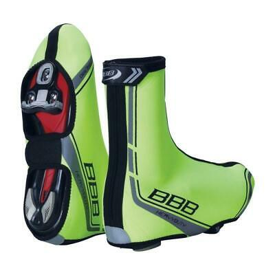BBB Heavy Duty OSS Winter Cycle Over Shoes Warm - Neon Yellow Cycling Bike 42/43 • 24.99£
