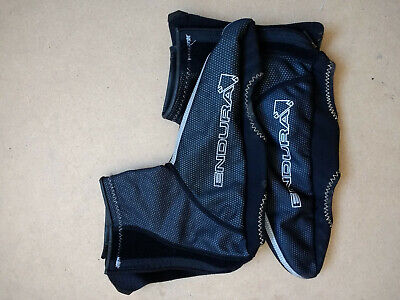 Endura Cycling Xl Overshoes Over Shoes Black Neoprene - Hardly Used • 10£
