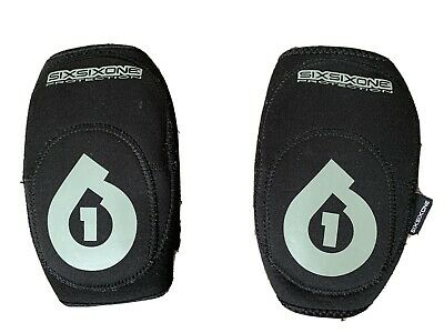 SixSixOne MTB Elbow Pads, Mountain Bike, Protection, In Perfect Condition • 5.50£