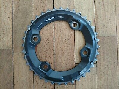 Shimano Chainring Deore XT FC-M8000 2x11 Outer 36T BC Composite/Steel Y1RL98080 • 5£